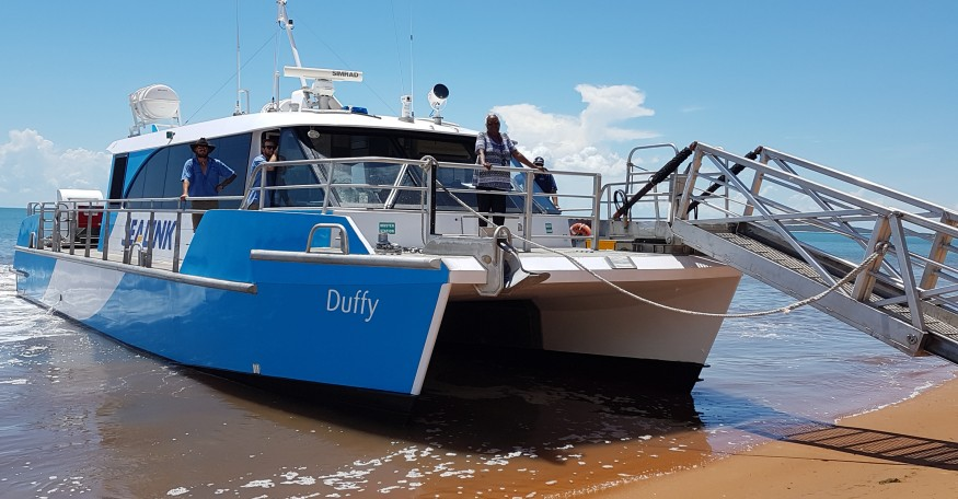 'Duffy' - New era in Transport Services for Groote`Eylandt